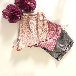 3 Piece Victoria's Secret Shorts Bundle Lot New